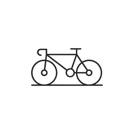 Bicycle vector icon Stock Illustratie