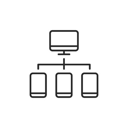 Server vector icon Stockfoto - 122592667