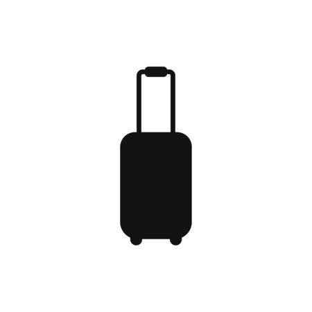 Suitcase icon vector. Luggage sign