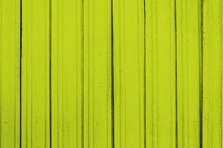 Texture of old wooden planks with peeling color paint Stock Photo