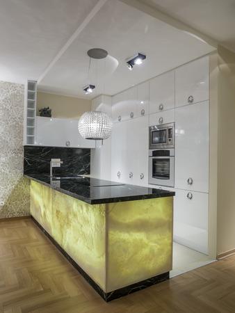 lighting fixtures: Kitchen