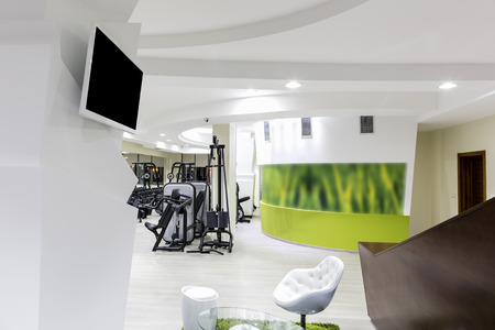 Gym interior Stock Photo - 47686419