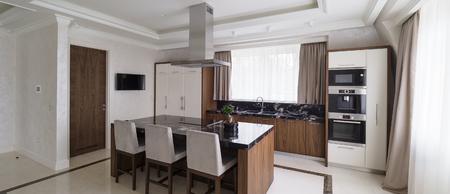 Modern minimalist kitchen Stock Photo - 102009666