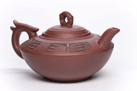 Clay teapot from China Stock Photo - 6298189