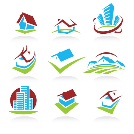 House set of icons  Vector  Stock Vector - 17584954