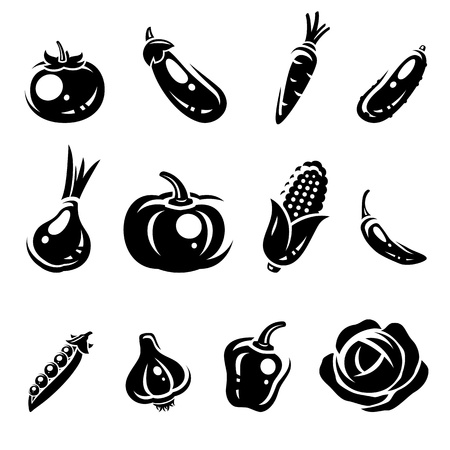 Collection of vegetables set Stock Vector - 18081051