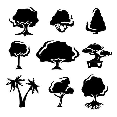 Trees set  Stock Vector - 18514210