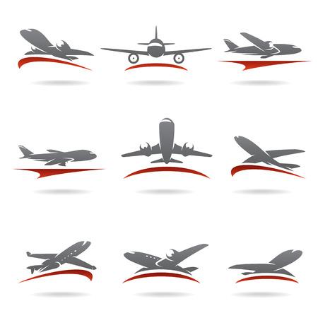飛行機のベクトルを設定