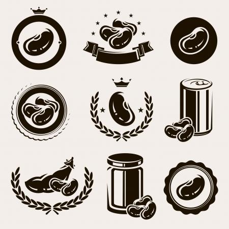 leguminosas: Beans conjunto de vectores