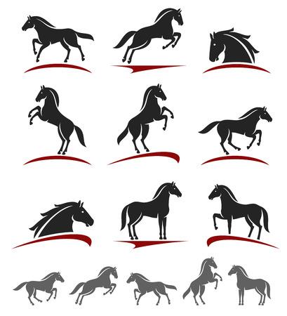 馬のセットです。