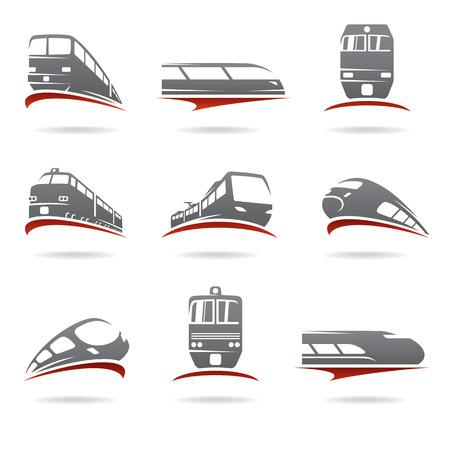 Train set.  Illustration