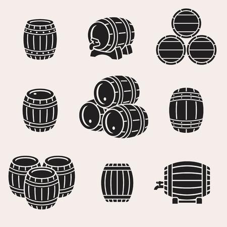 Barrels set.