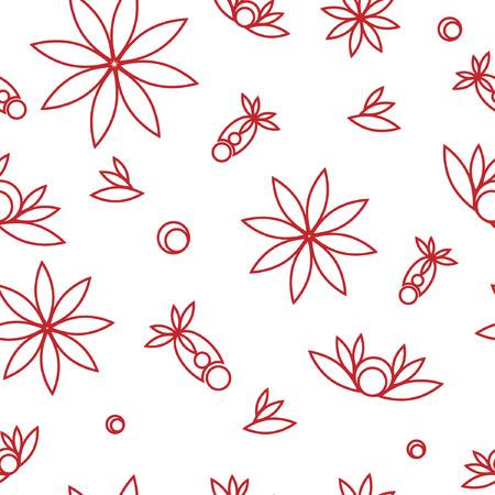seamless: Seamless floral texture Illustration
