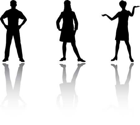 Set people. Vector. Similar images can be found in my gallery. Stock Photo - 3633471
