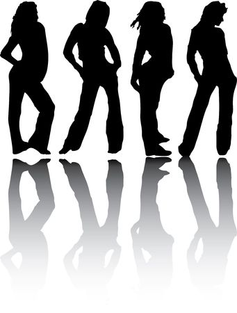 Set people. Vector. Similar images can be found in my gallery. Stock Photo - 3633531