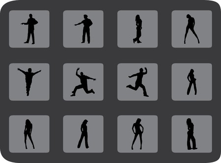 Set people. Vector. Similar images can be found in my gallery.  photo