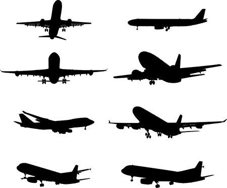aviations: Set the plane. A . Similar images can be found in my gallery. Stock Photo