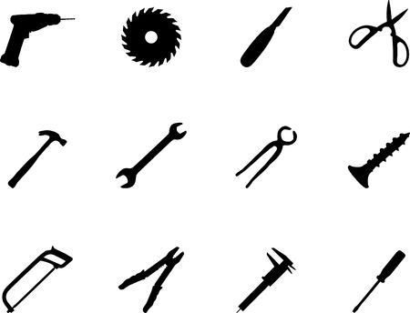 found: Set icons. Tools. Similar images can be found in my gallery.