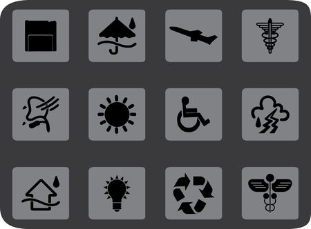 similar: Set icons.. Similar images can be found in my gallery.