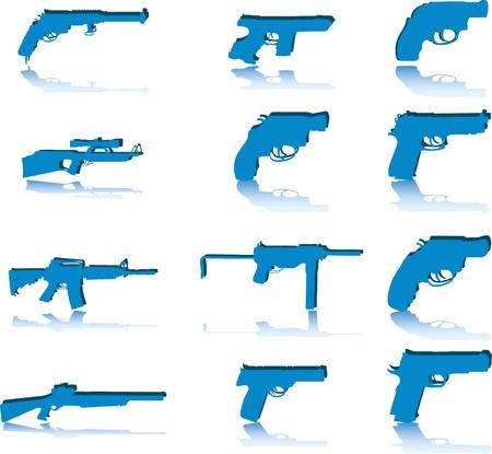 Guns.  photo