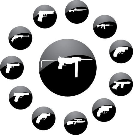 Guns.   Stock Photo - 7084802