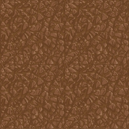 cowhide: Vector Illustration of Seamless leather pattern for your design
