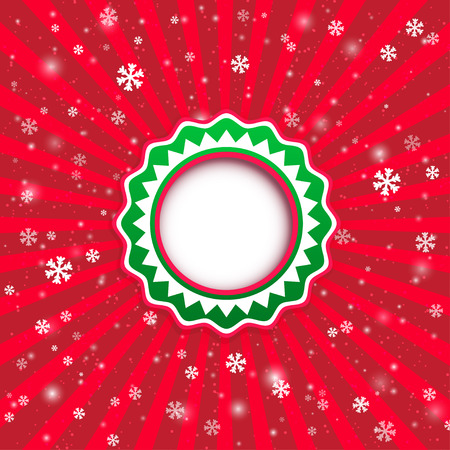 applique: Christmas applique background. Vector illustration for your design. Illustration