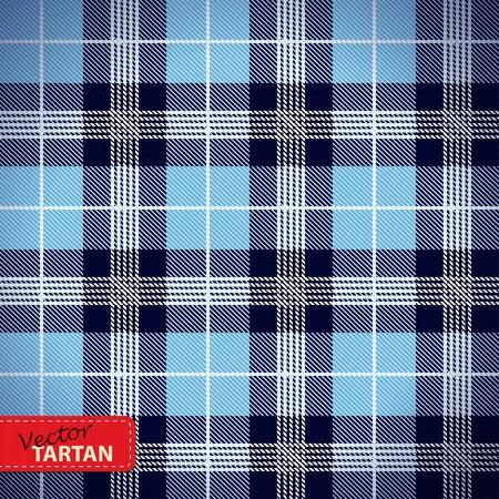 Vector illustration of Seamless tartan pattern Illustration