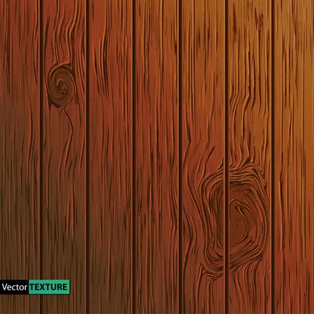 Vector Illustration of  Wooden texture Stock Illustratie
