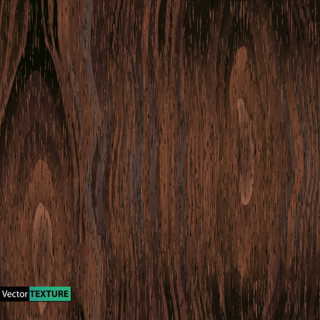 Vector Illustration of  Wooden texture Çizim
