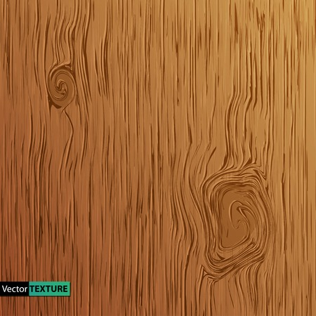 Vector Illustration of  Wooden texture Vectores