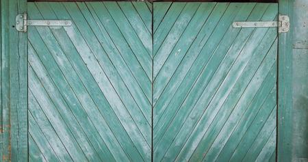 diagonal stripes: Photo of green grunge wood texture with diagonal stripes