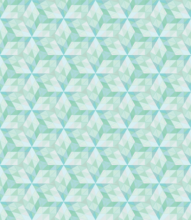 grid background: Vector illustration Abstract geometric seamless grid green polygonal triangle background. Illustration