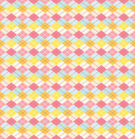Colorful seamless tartan pattern .