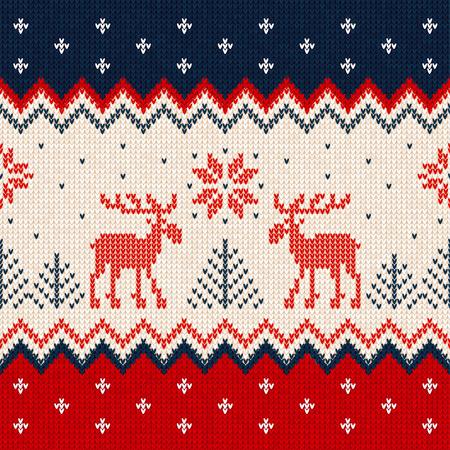 추한 스웨터 기쁜 성 탄과 새 해 인사 카드 프레임 테두리 템플릿.