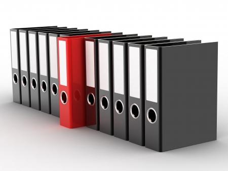 chancellerie: Fichiers Office sur un fond blanc Banque d'images