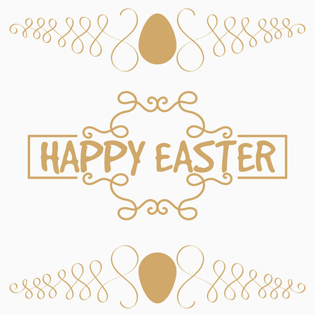 gold egg: It is yellow or gold egg and vegetable element. Decorative an element for Easter. Card or congratulation.
