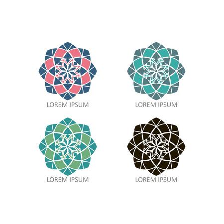 mandalas: Mandalas or Geometrical Illustration