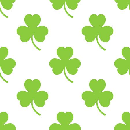 seamless clover: Clover pattern