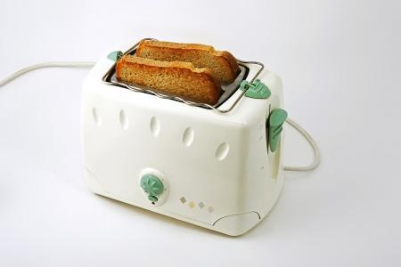 toaster: toaster staying on kitchentable Stock Photo