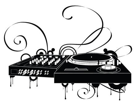 disk jockey: Il Abstract Turntable