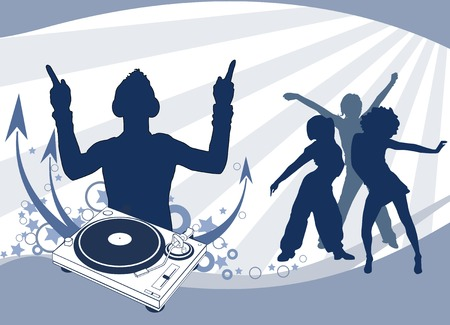 Party DJ Stock Vector - 1914863