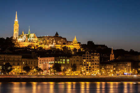 View of the Fishermens Bastion in Budapest
