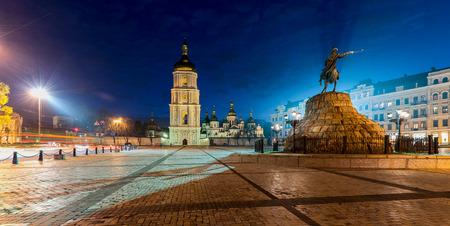 Sophia square in Kyiv