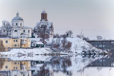 Church of St. George in the Bila Tserkva in winter