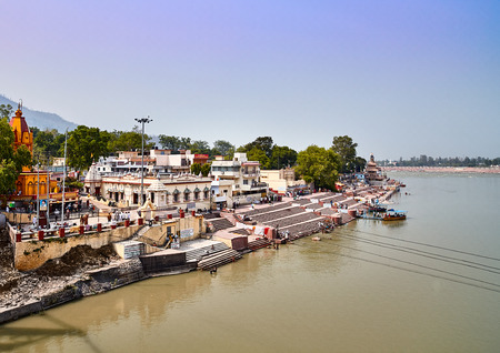 Rishikesh, holy town and travel destination in India