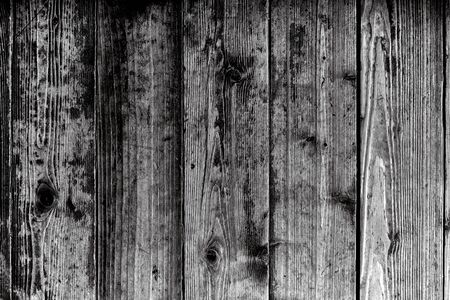 BW image of Old wooden wall background or texture. Old Vintage dirty grunge Planked Wood Texture Background. Stock fotó - 129816508