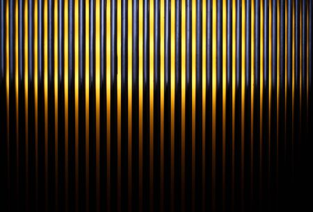 Abstract image of black and yellow stripes