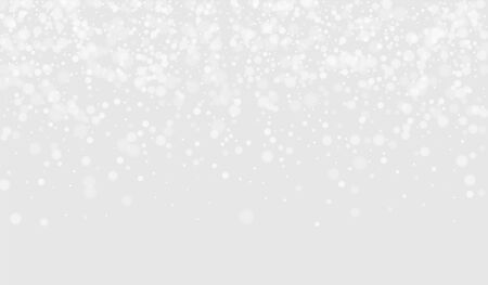 Gray Flake Winter Background. Magic Snowflake Wallpaper. Transparent Card. White Snow Graphic Banner. Flake Xmas Wallpaper.