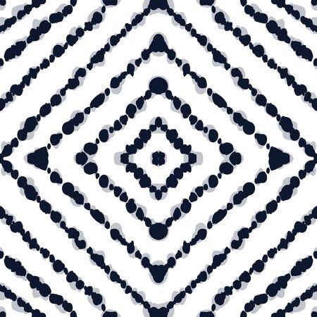 Azure Striped  Seamless Pattern.